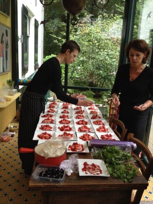 voorbereiding diner